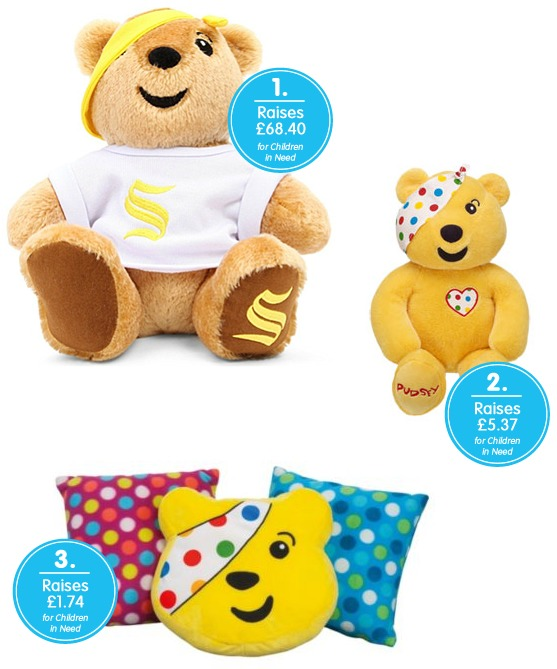 Buy your Pudsey designer bear