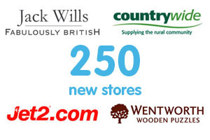 250 New Stores
